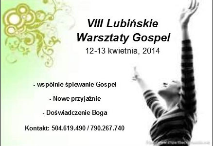 Gospel 2013 Website Promotion