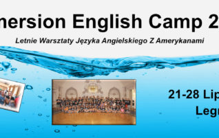 Immersion English Camp     21-28 lipca, 2019